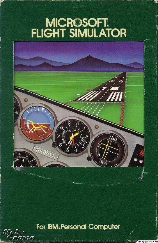 Microsoft flight Simulator 1 0 - Ultimate History of Video games