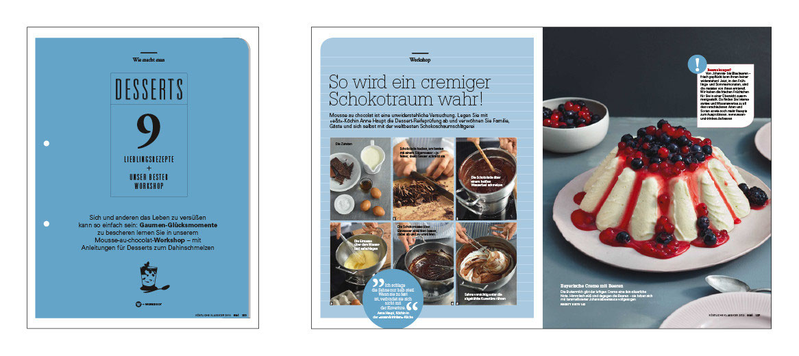 Essen Trinken Foodmagazin Spezial Grafik Illustration