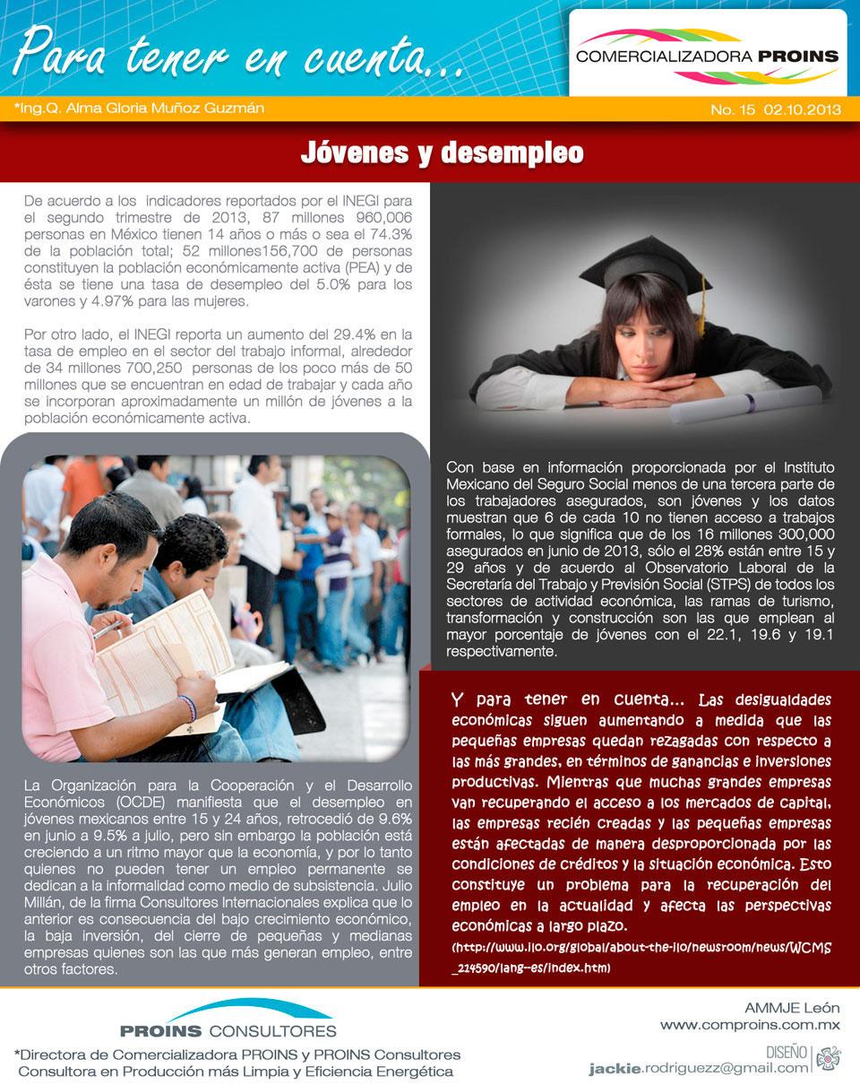 Jóvenes y Desempleo - http://www comproins com mx/Pinturas