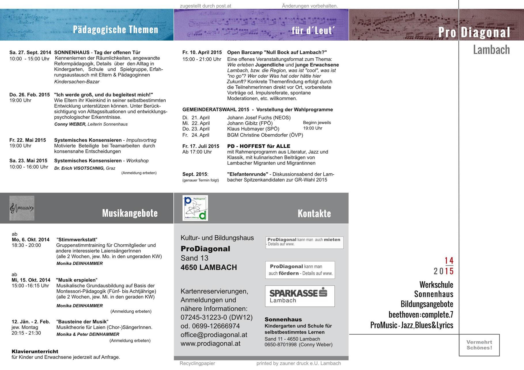 beethoven plete 7 8 2014 15 ProDiagonal Zentrum für