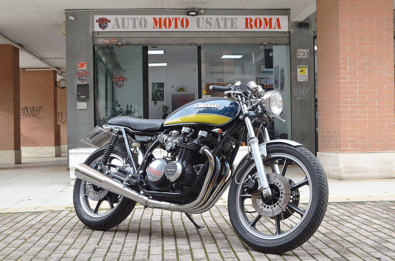 Bmw Cafe Racer Usata Roma Newmotorjdico