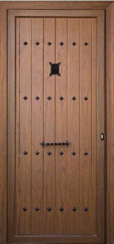 Paneles Rusticos Aluminios Noain Gares - Modelos-de-puertas-rusticas