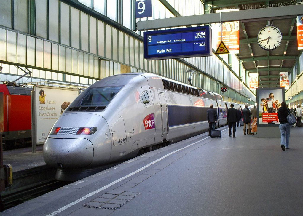 Ab Dezember 2011 Sollen Tgvs Von Frankfurt Marseille Fahren
