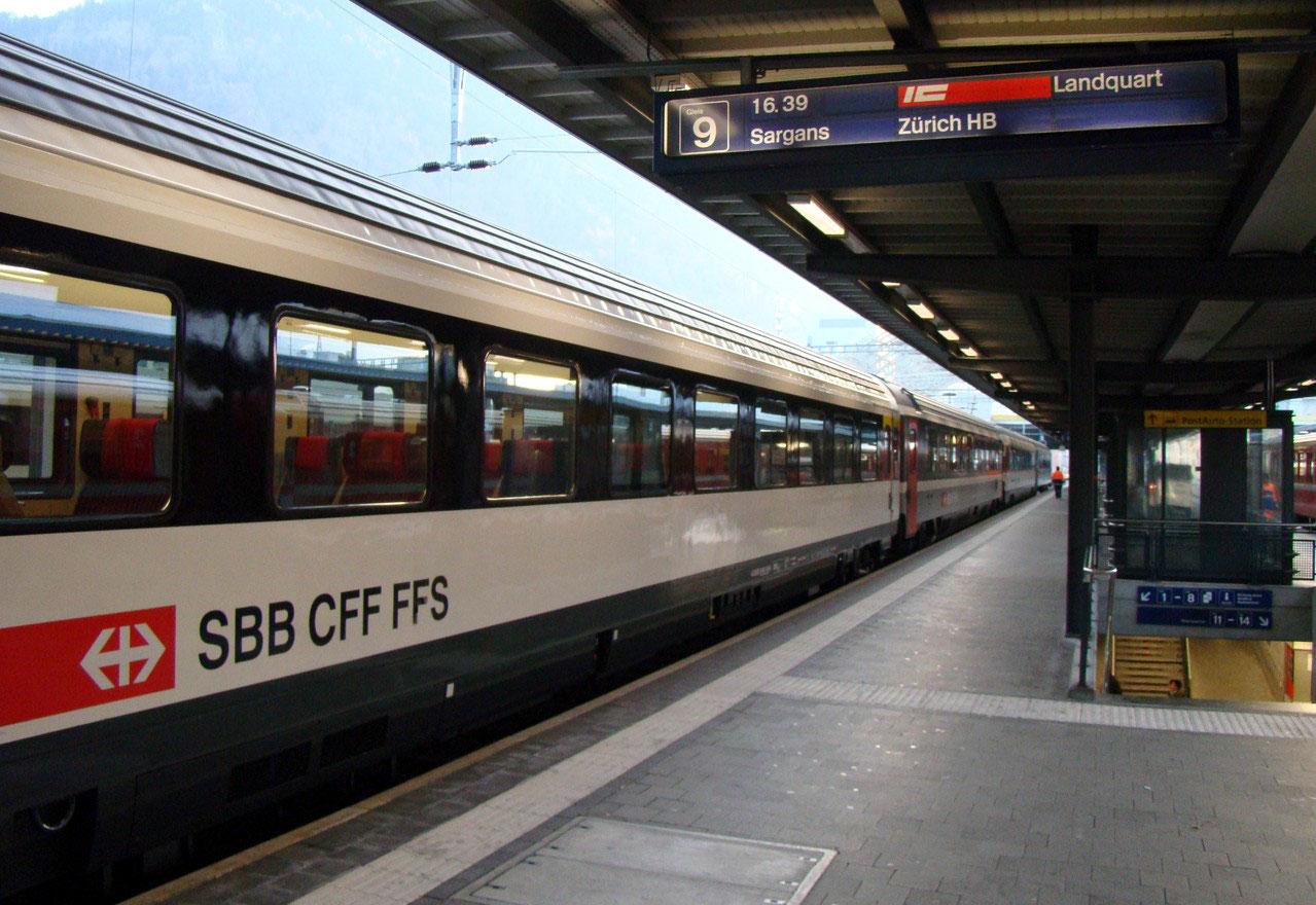 Ausbau Der Intercity Verbindungen Zürichchur Ab Mitte 2014