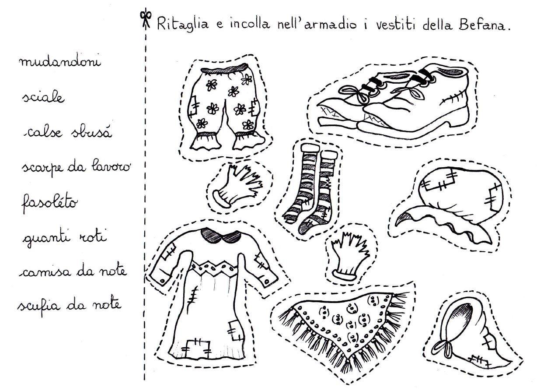 Immagini della befana da colorare e stampare for Disegni inazuma eleven da stampare