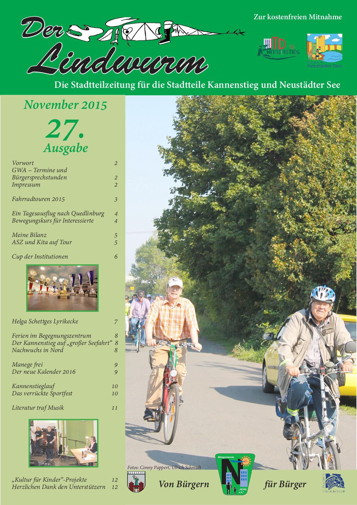 27. Ausgabe (November 2015) - Neustaedter See