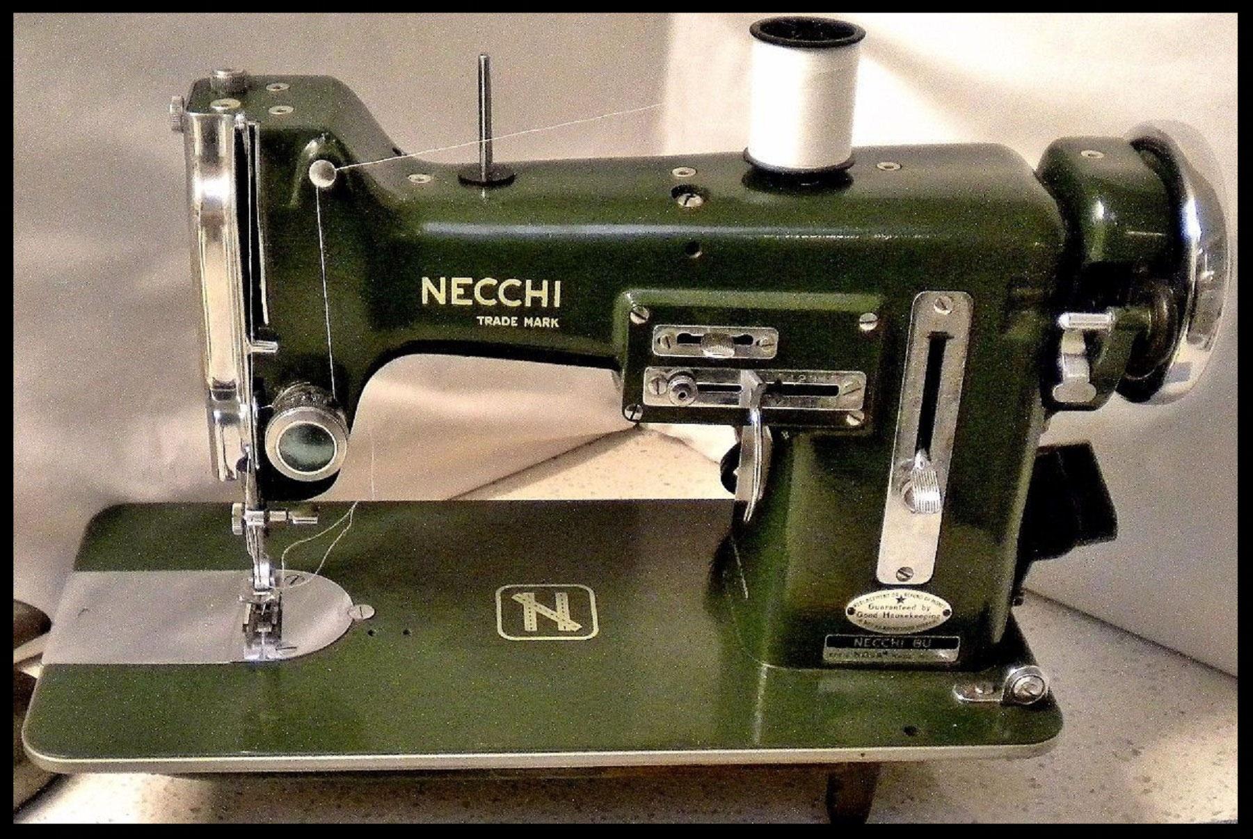 Necchi Bu Sewing Machine Photos And Wallpapers Supernova Threading Diagram Vintage N Fiddlebase
