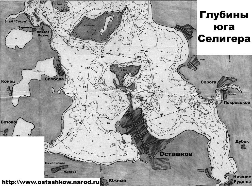карта глубин дона воронежская область
