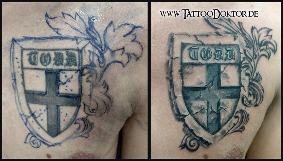 Tattoodoktor Lubeck Rostock Galerie Reparatur Abdeckung Herren