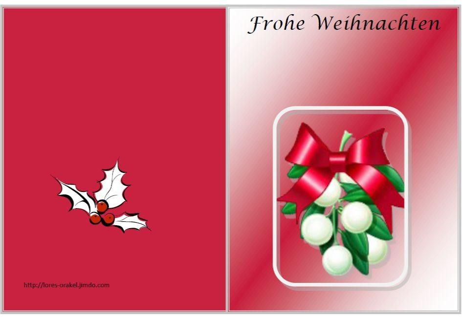 Weihnachtskarten Per Mail Gratis.Weihnachtskarten Kostenlos Ausdrucken Lores Orakel Esoterik Und