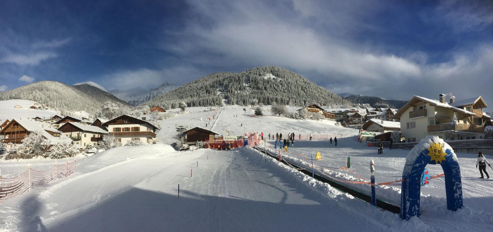 Christmas Village Ski Lift.Panorama Ski Lift The Sunny Ski Adventure Panorama Ski