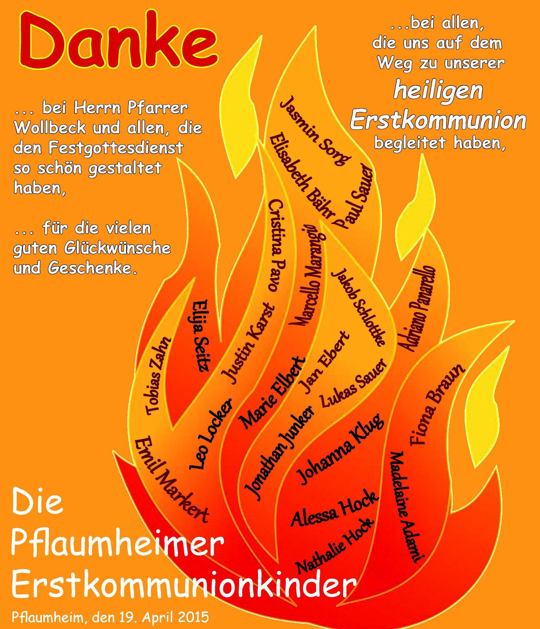 Kommunion Vereinsring Pflaumheim