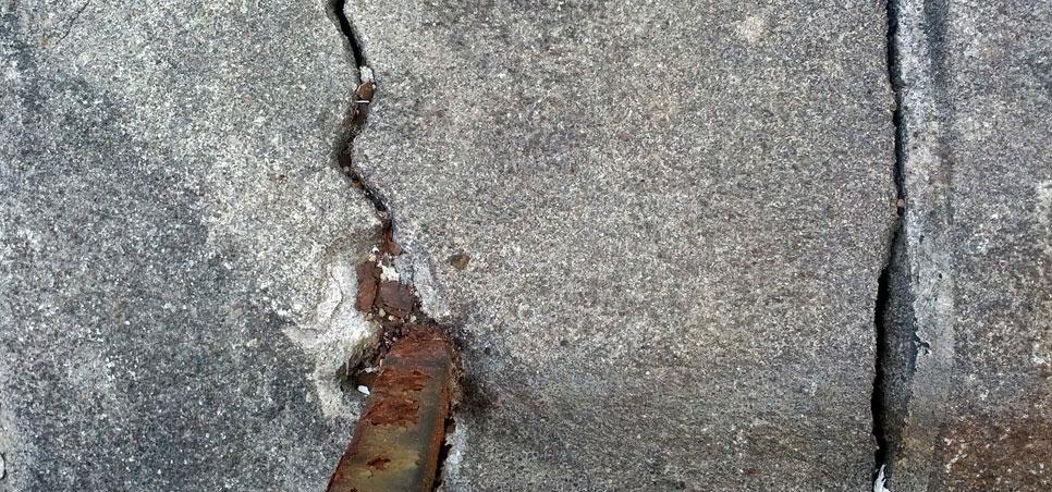Bekannt Risse im Beton. Hier lesen, was gegen Beton-Risse hilft - ✓ TJ88