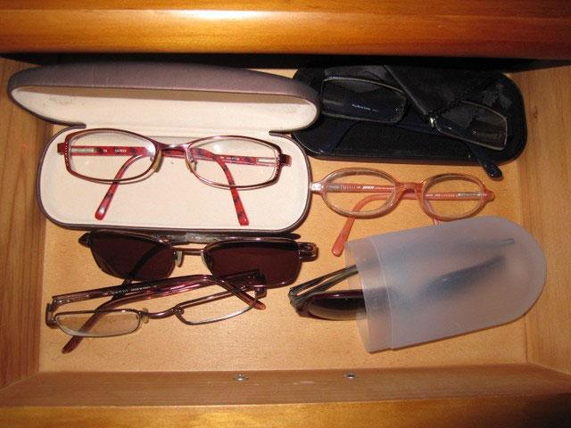 Que faire lunettes usagees