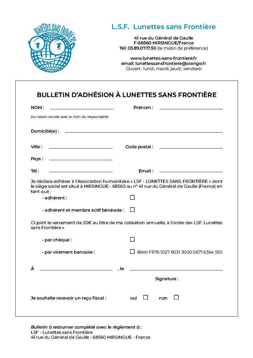 Comment Nous Aider Site De Lunettes Sans Frontiere