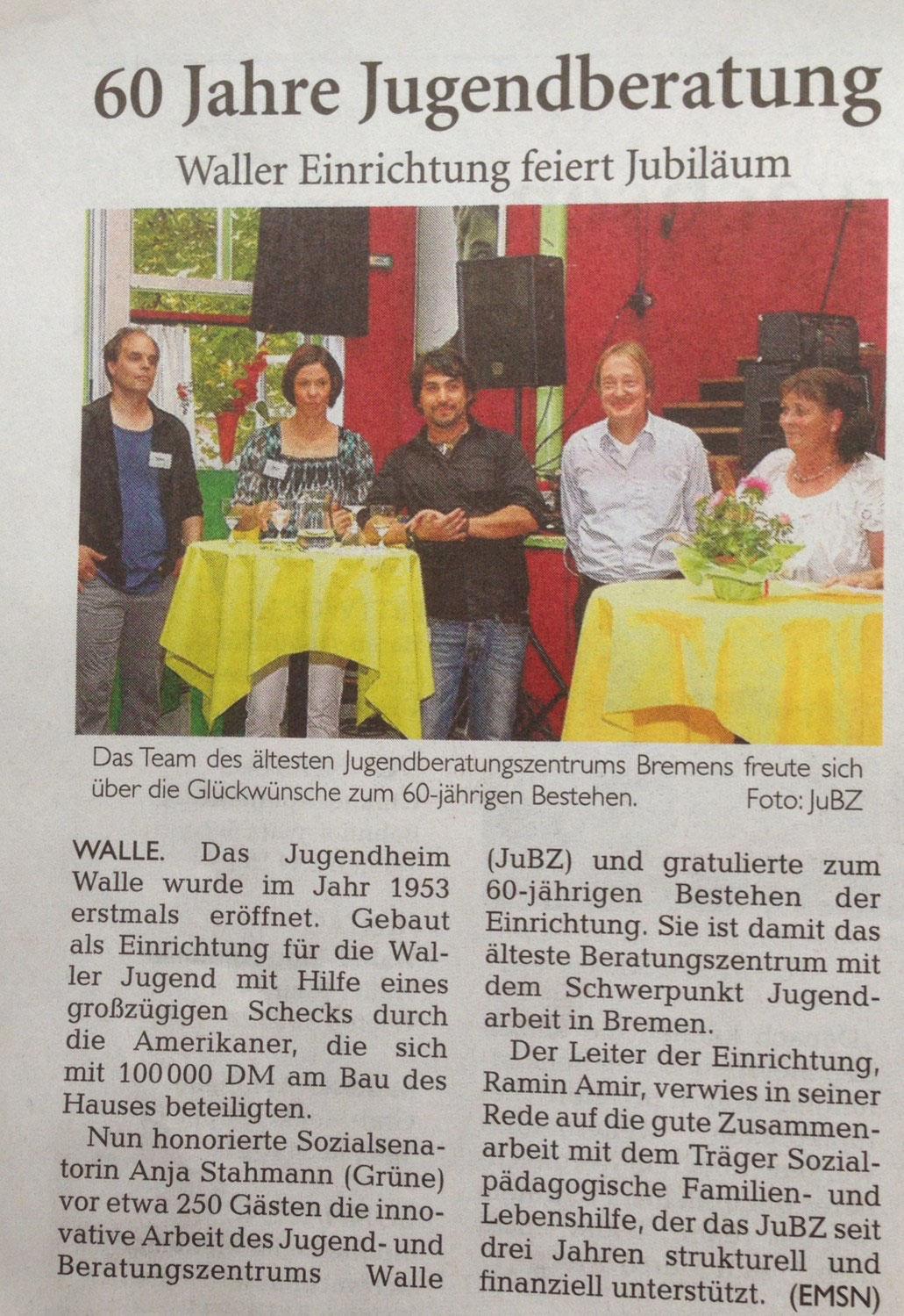 Aktuelles - JuBZ-Walle Bremen