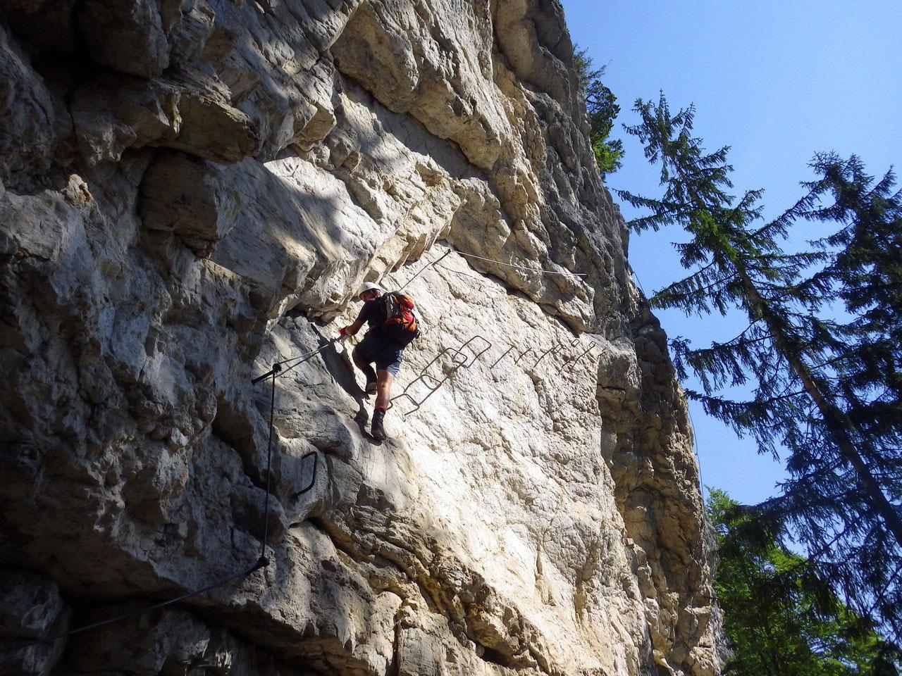 Klettersteig Postalmklamm : Postalmklamm klettersteig olli outdoor travelling