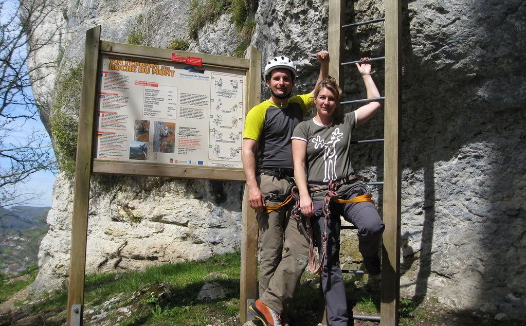 Klettersteig Quebec : Klettersteig la roche du mont olli outdoor travelling