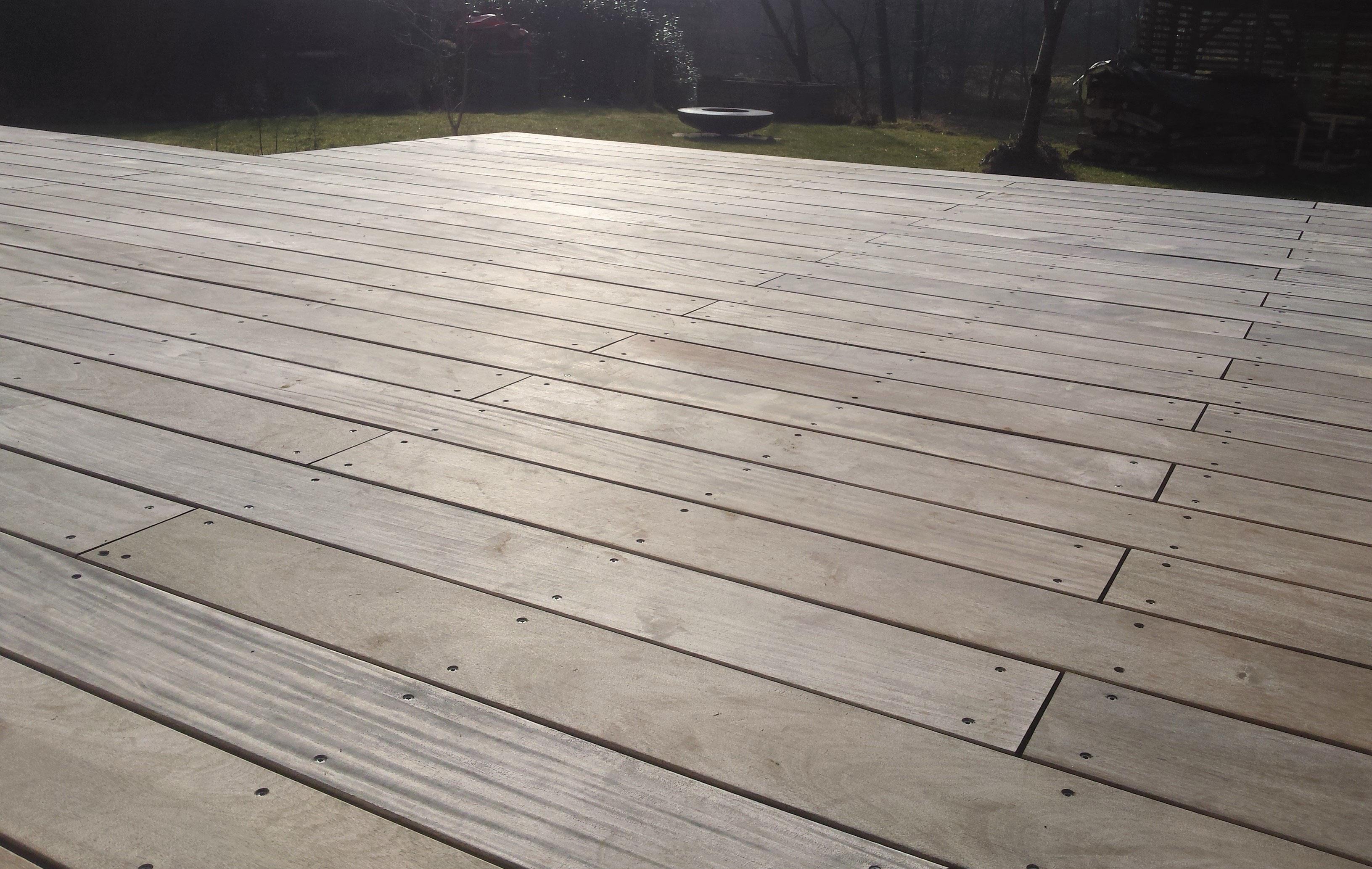 Sehr Holzterrasse reinigen - Holz-Jaeger - Haus und Garten UP52