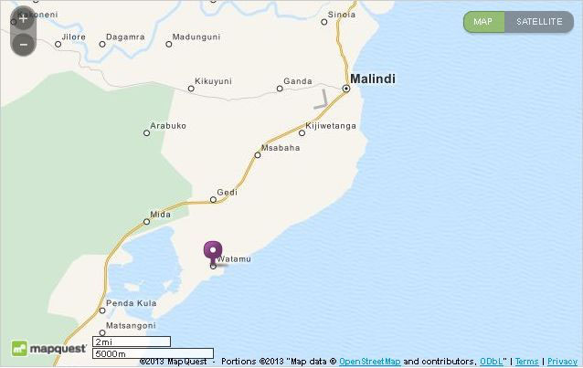 Malindi Cartina Geografica.Watamu Malindi Lumo Rafiki