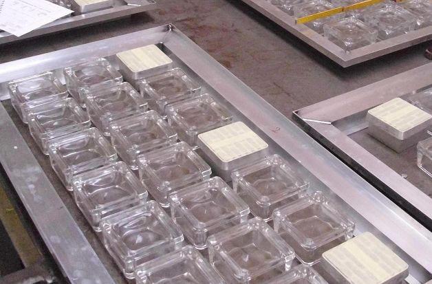 Individuelle Herstellung Lichtschacht Glasbausteine Center