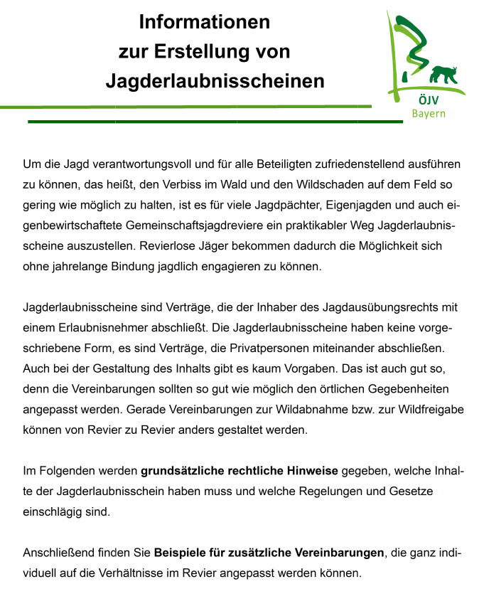 Downloads ökologischer Jagdverband Bayern