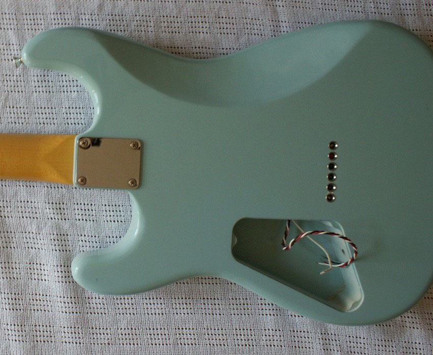 MY BEST-OF-FENDER- or BEST-OFFENDER-PROJECT built with MUSIKRAFT