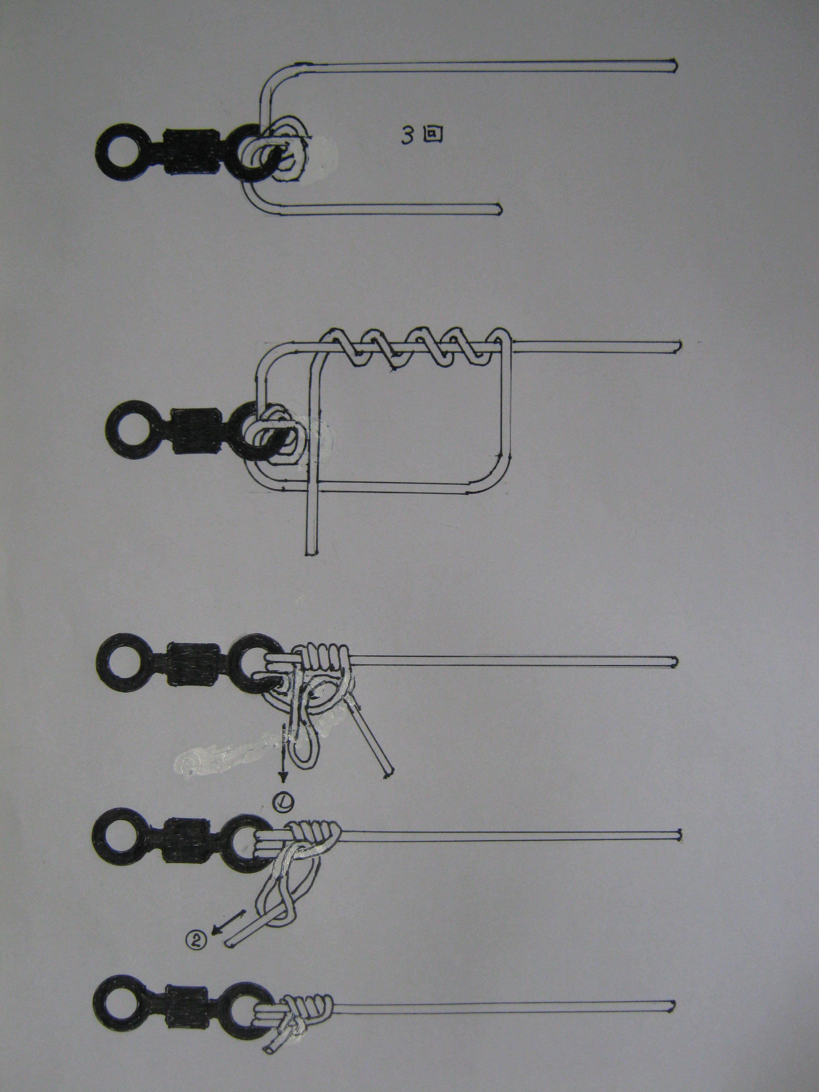 付き 針 結び方 管