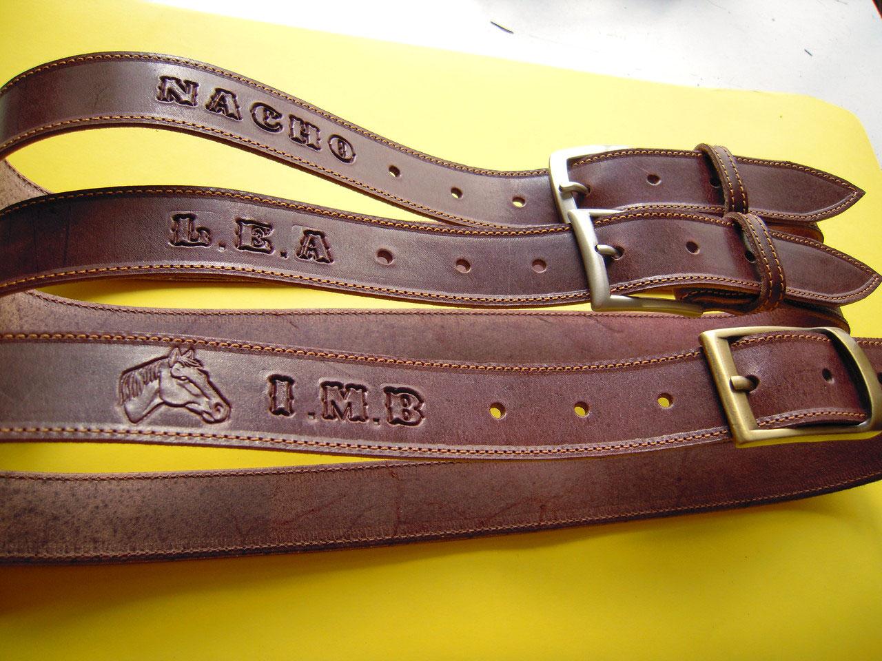 Cinturones de cuero desde 15€ (mas gastos de envíos) Grabado nombre gratis  e847bdb03614