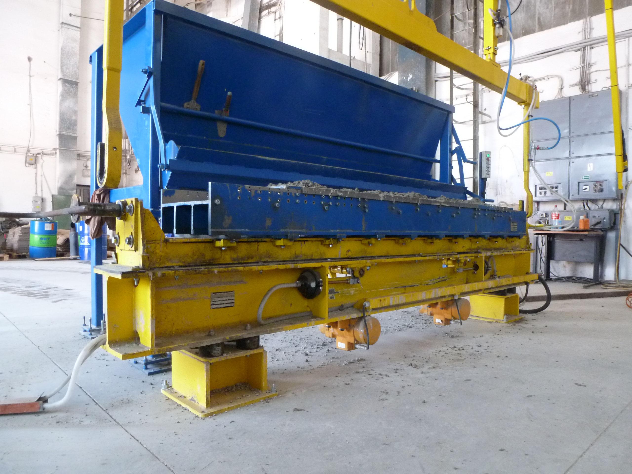 Tilt mould machines - Used - Precast Concrete Machinery