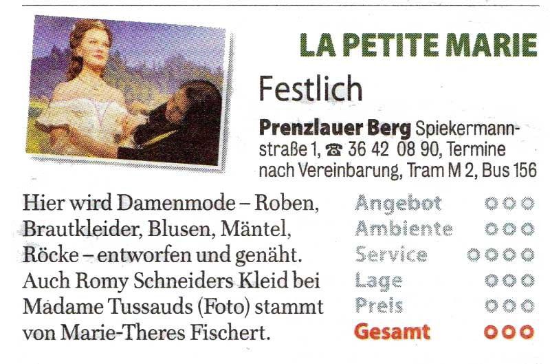 Bewertungen & Presse - Berliner Maßschneiderei Brautkleider ...