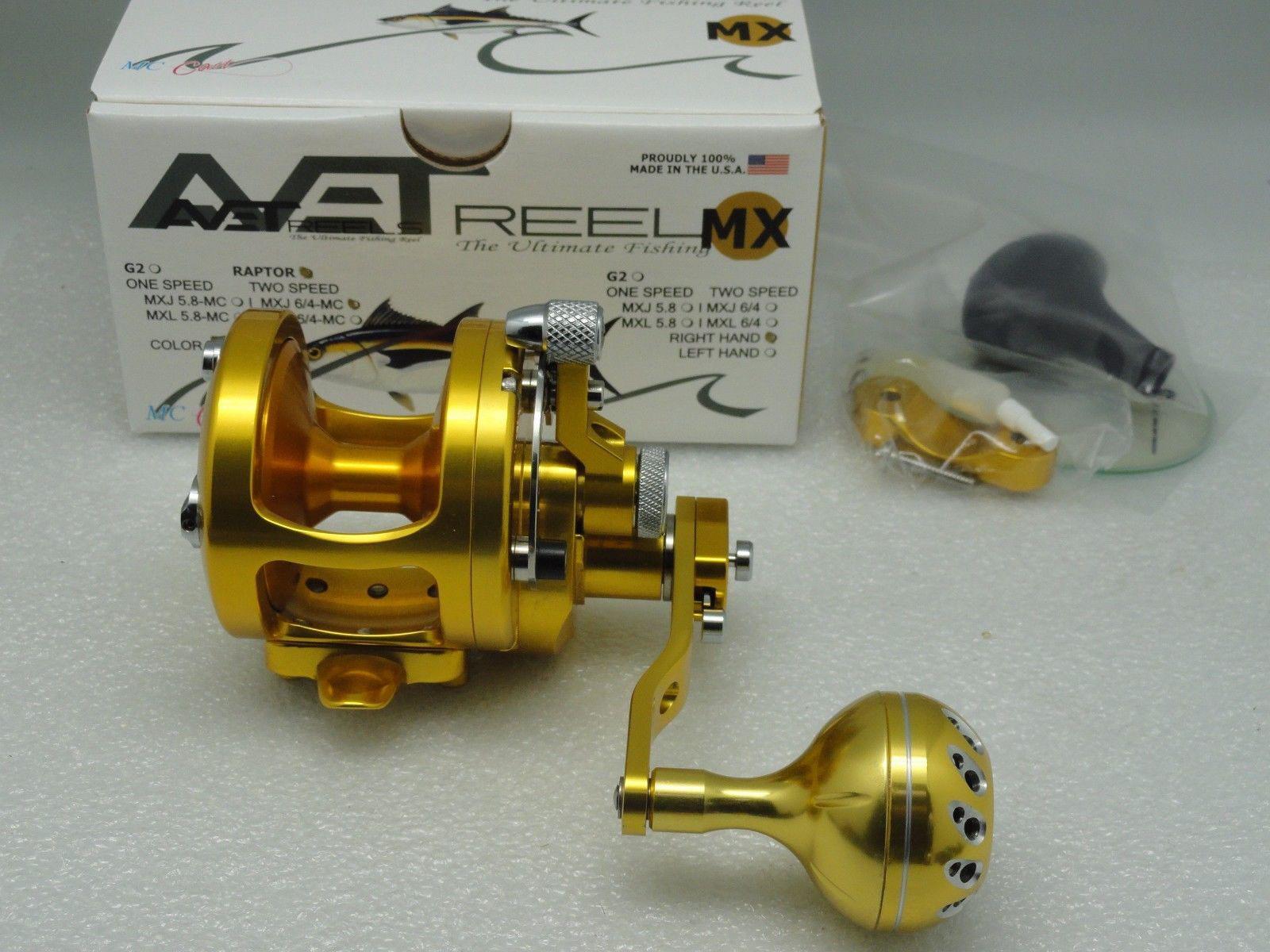 45mm Knob Avet Installation & Example - PBM Fishing