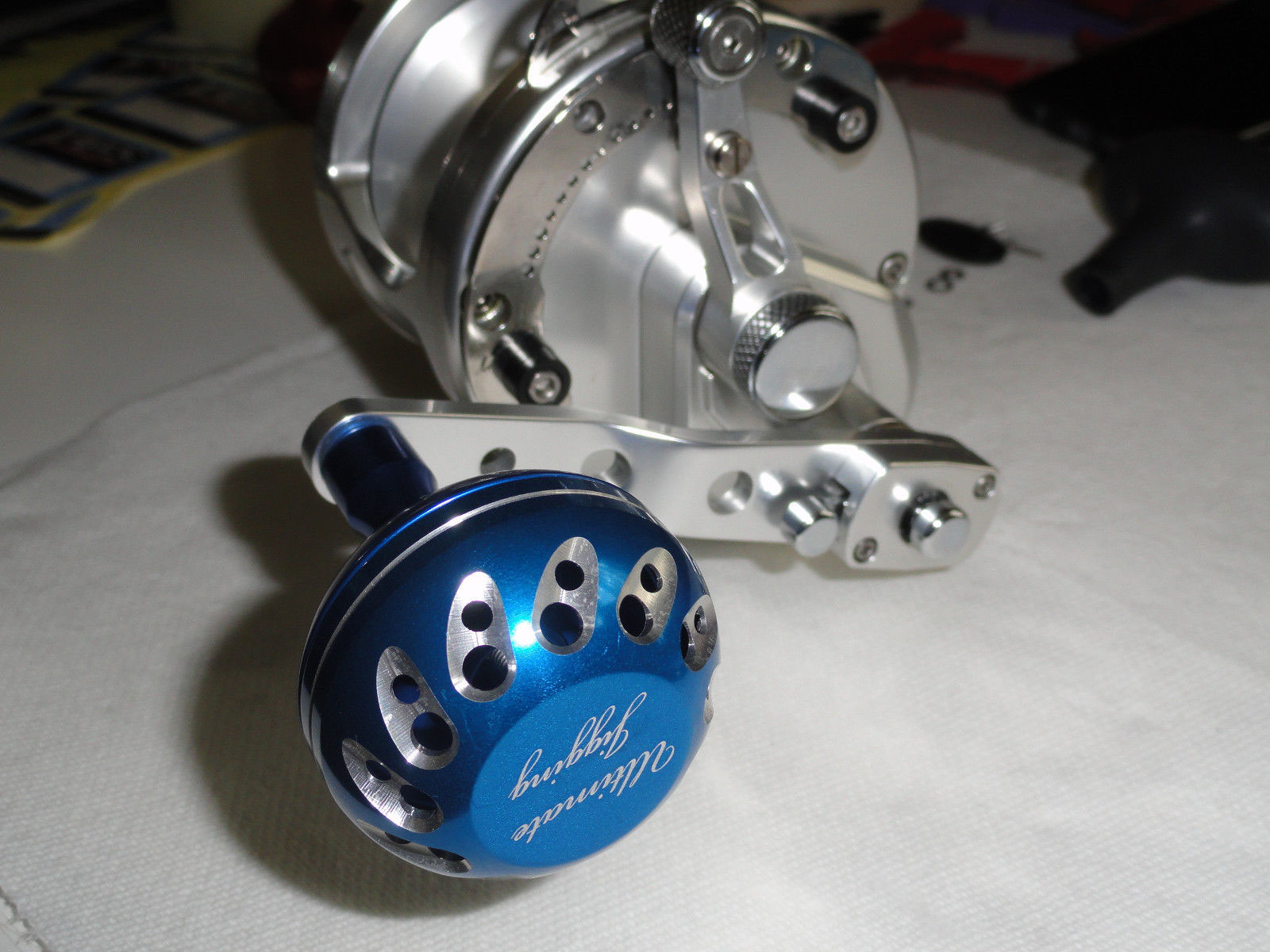 45mm Knob Avet Installation & Example - PBM Fishing