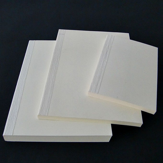 10 x 15 cm 72 Blatt Buchblock fadengeheftet blanko