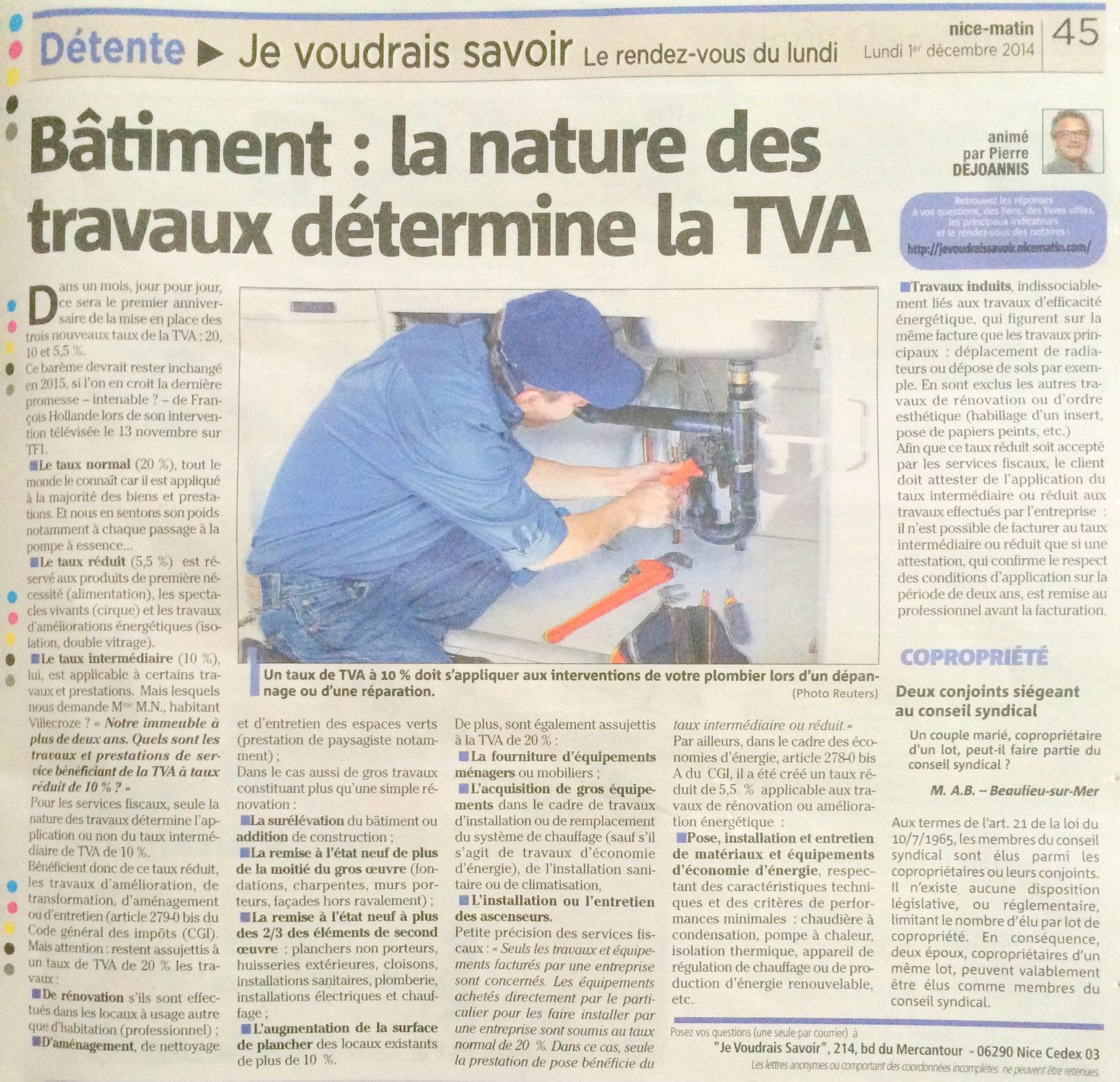 Travaux Salle De Bain Tva ~ la t v a taux r duit bienvenue sur le site de la menuiserie minier