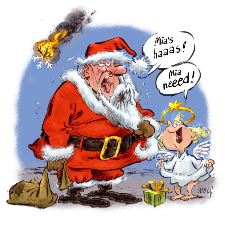 Comic Frohe Weihnachten.Frohe Weihnacht 2014 Illustration Und Comic Heinz Wolf