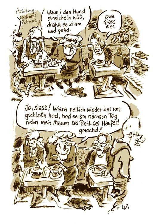 Siass Scheissn Illustration Und Comic Heinz Wolf