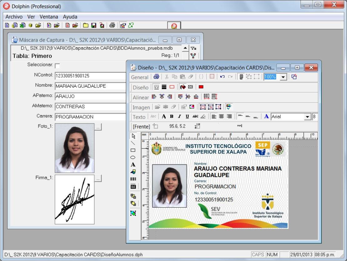 software para credenciales software para credenciales dolphin