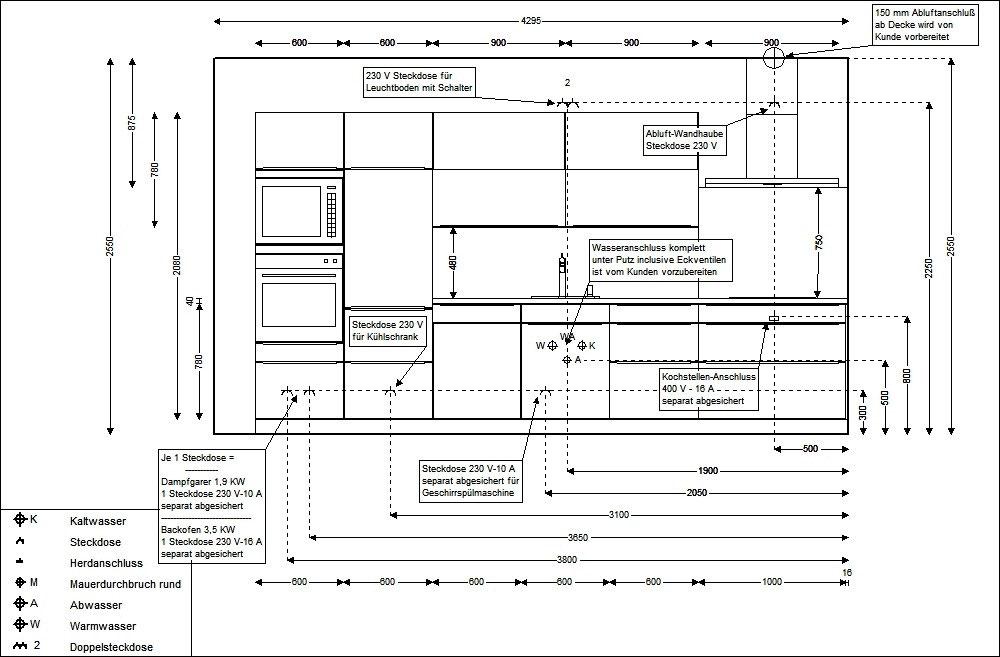 Installationsplan Ausmessen Kueches Jimdo Page
