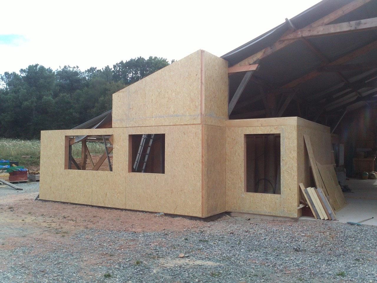 Maison de jardin avec ossature bois arcachon m² m²