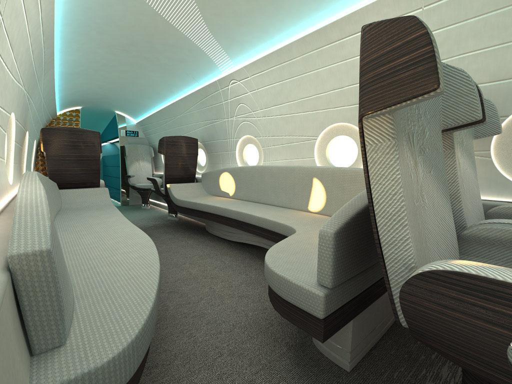 Sonicstar - OCTURI - Design & Interior, Fictional aircraft