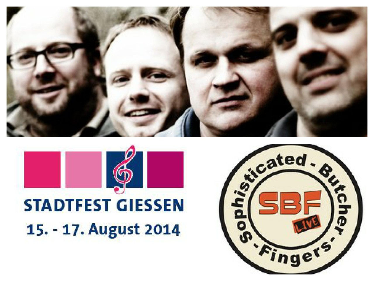 Sbf Beim Stadtfest Gießen 2014 Acoustic Music At Its Best