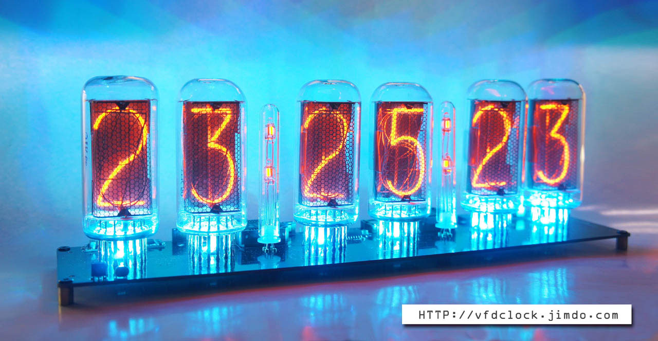 DIY DIP KIT-Pluggable IN-18 6-tube NIXIE clock-Open Hardware