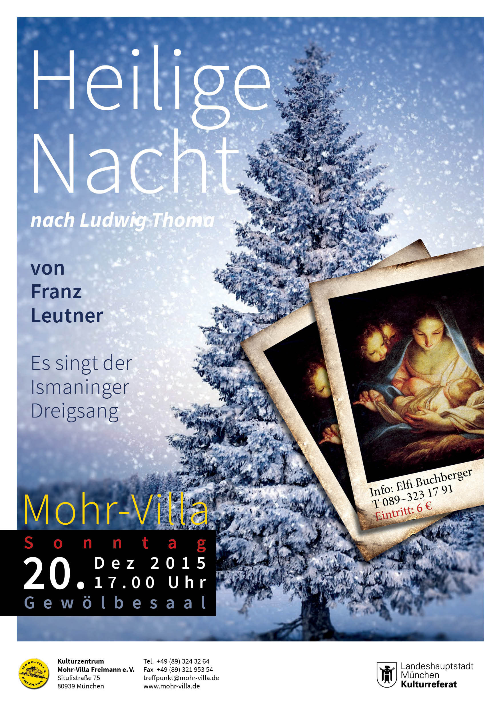LITERATUR UND LESUNGEN IN DER MOHR VILLA Mohr Villa Freimann