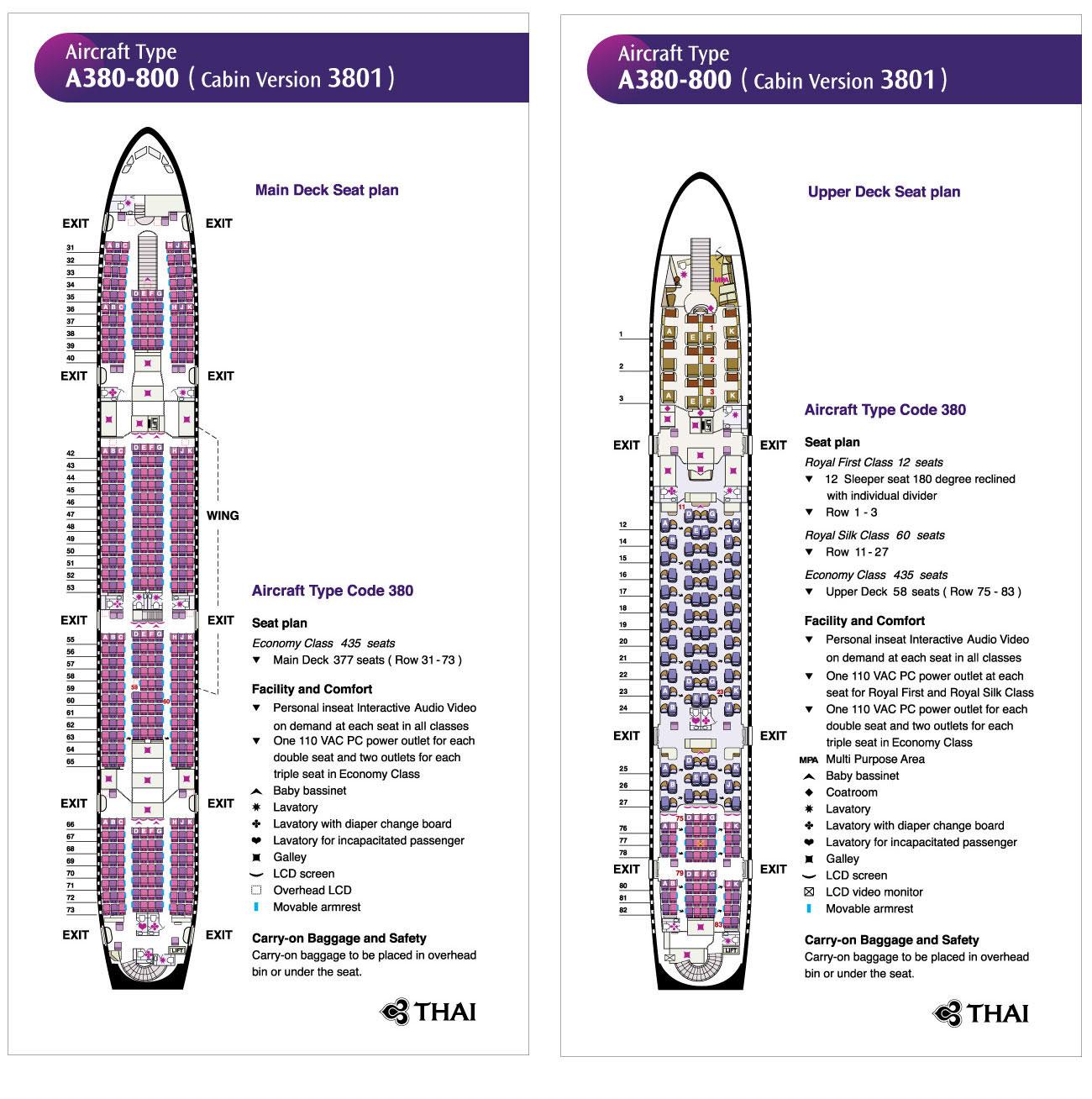 Thai Airways International - Fluggesellschaft - Urlaub in Thailand erleben