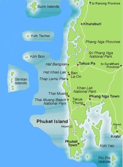 Khao Lak Urlaub Zwischen Dschungel Strand Urlaub In Thailand
