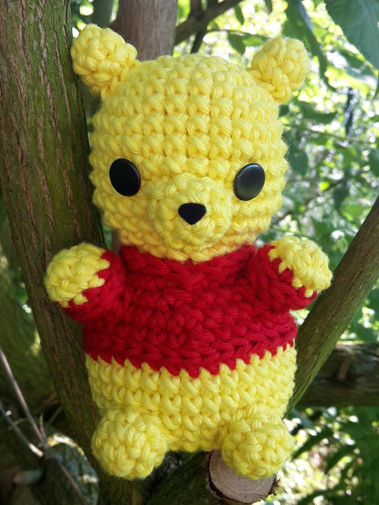 Amigurumi – Crochet Baby Winnie the Pooh - premium & free patterns ... | 1773x1330