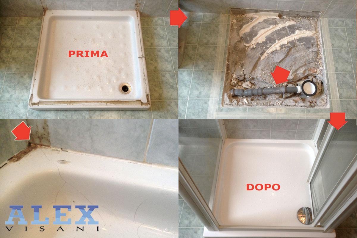 Sostituzione piatto doccia sesto fiorentino fi alex vasche