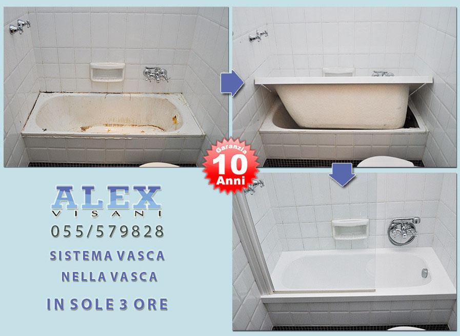 Vasca Da Bagno Rovinata : Sovrapposizione vasca da bagno a empoli alex vasche