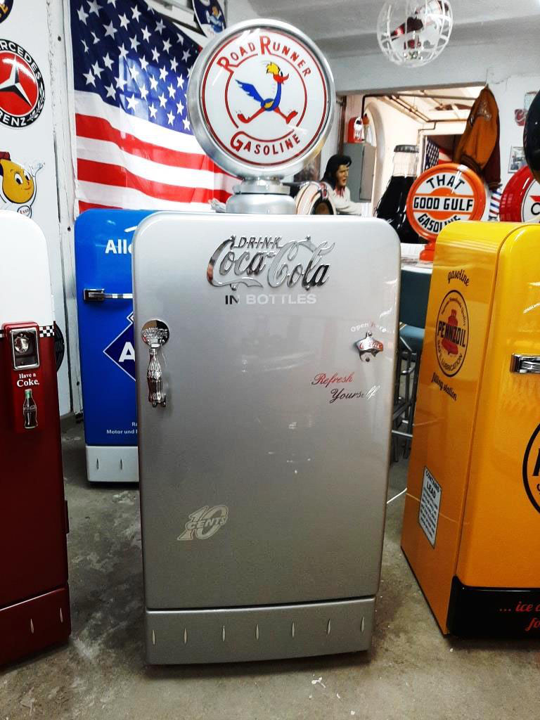 coca cola kühlschrank preis